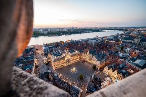 Antwerp from above