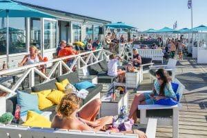 Beach terrace Holland