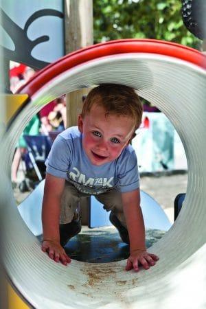 Bumba playground at Plopsaland de Panne