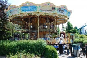 Carousel at Boudewijn sea park