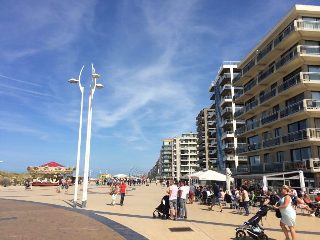 De Panne seafront