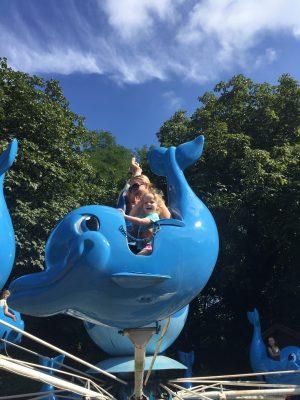 Dolphin ride at Boudewijn sea park