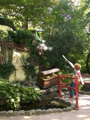 Dragon at Efteling