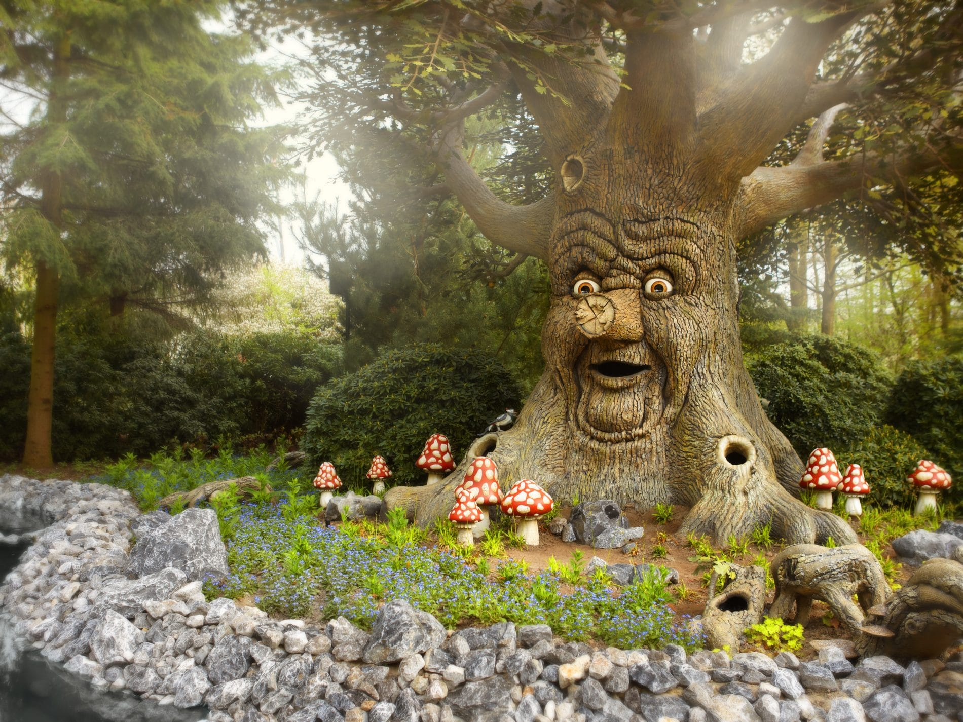 Fairytale tree at Efteling