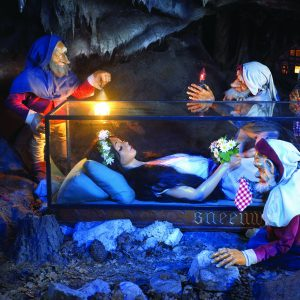 Snow white at Efteling