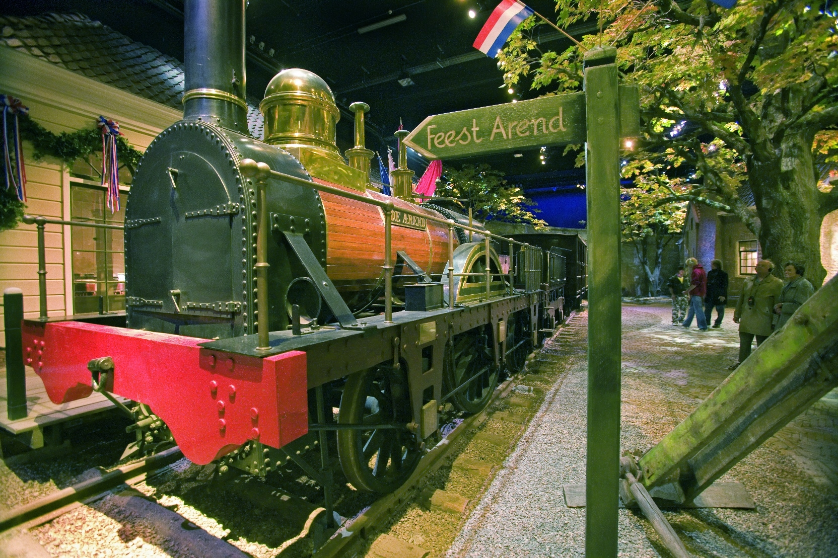 Train Museum in Utrecht