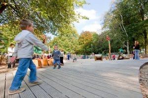 Playground in Graaf Visart park