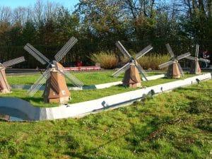 Windmills at Mini Europe