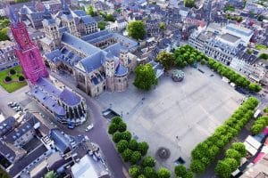 Maastricht aerial view