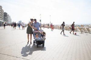 Ostende promenade