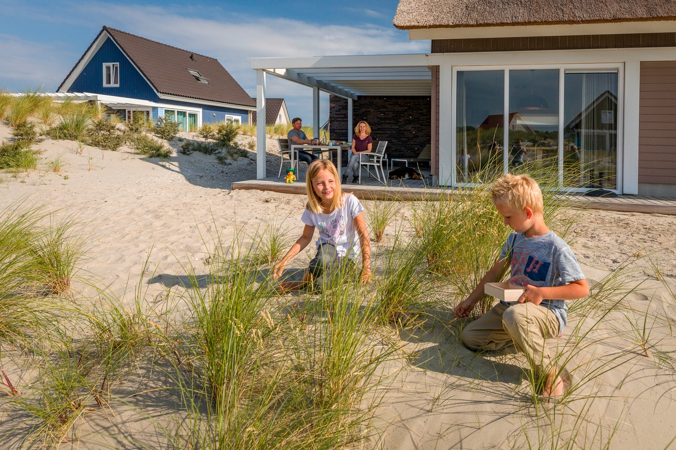 Ouddorp Duin villas and dunes