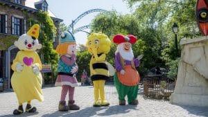 Plopsa characters at Plopsaland de Panne