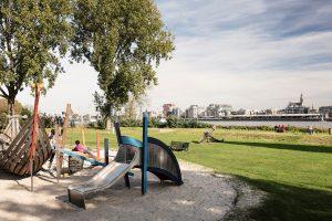 Riverside playground in Antwerp