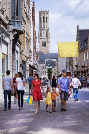Shopping in Bruges