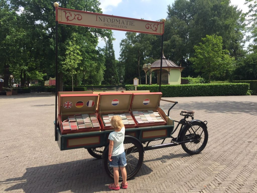 Choosing A Map By Language Efteling