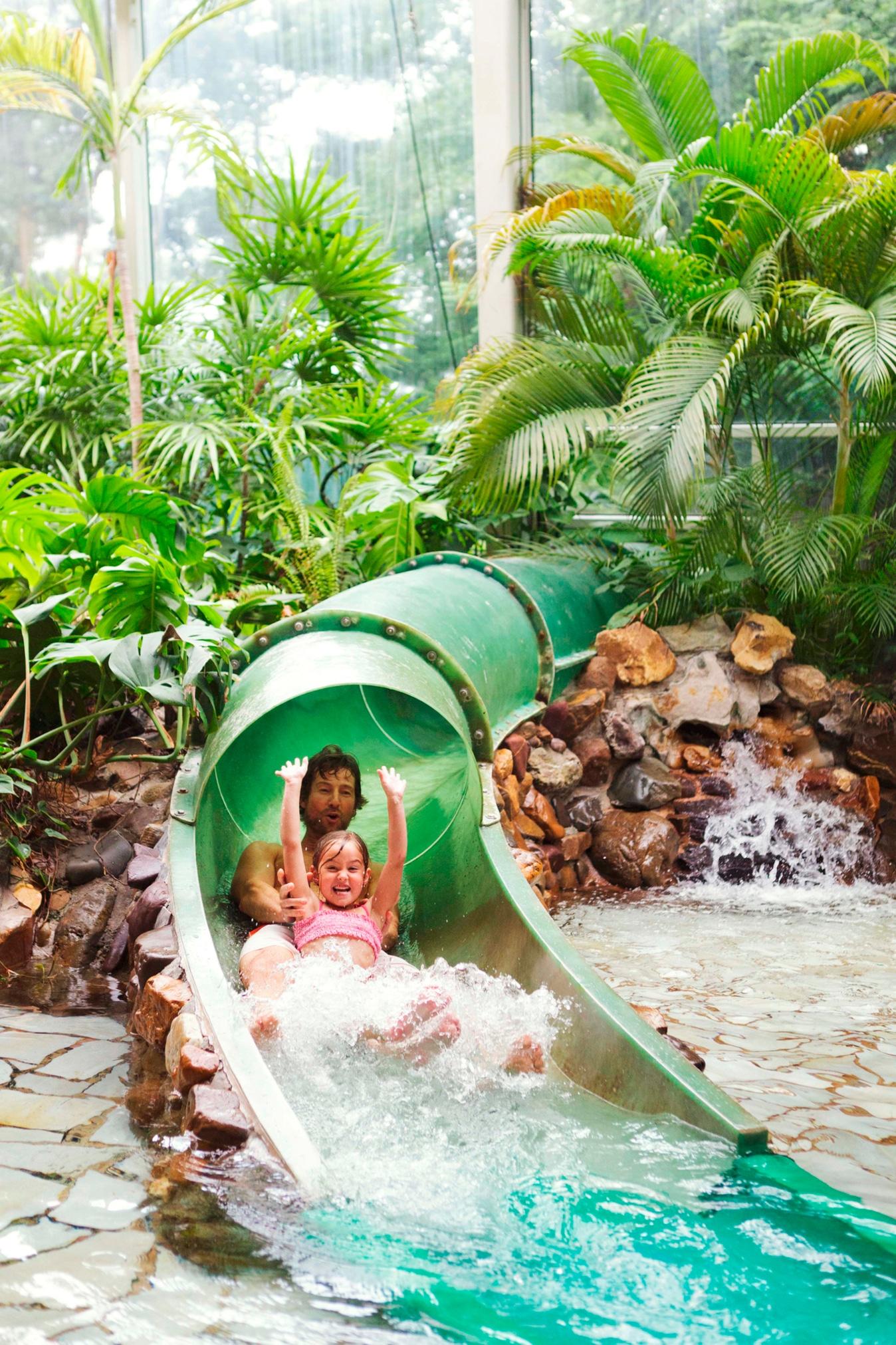 Water slide at Landal de Lommerbergen