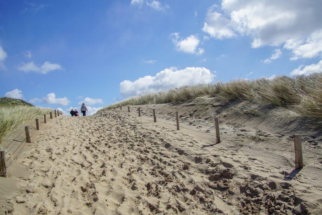 Beach Walk in Holland