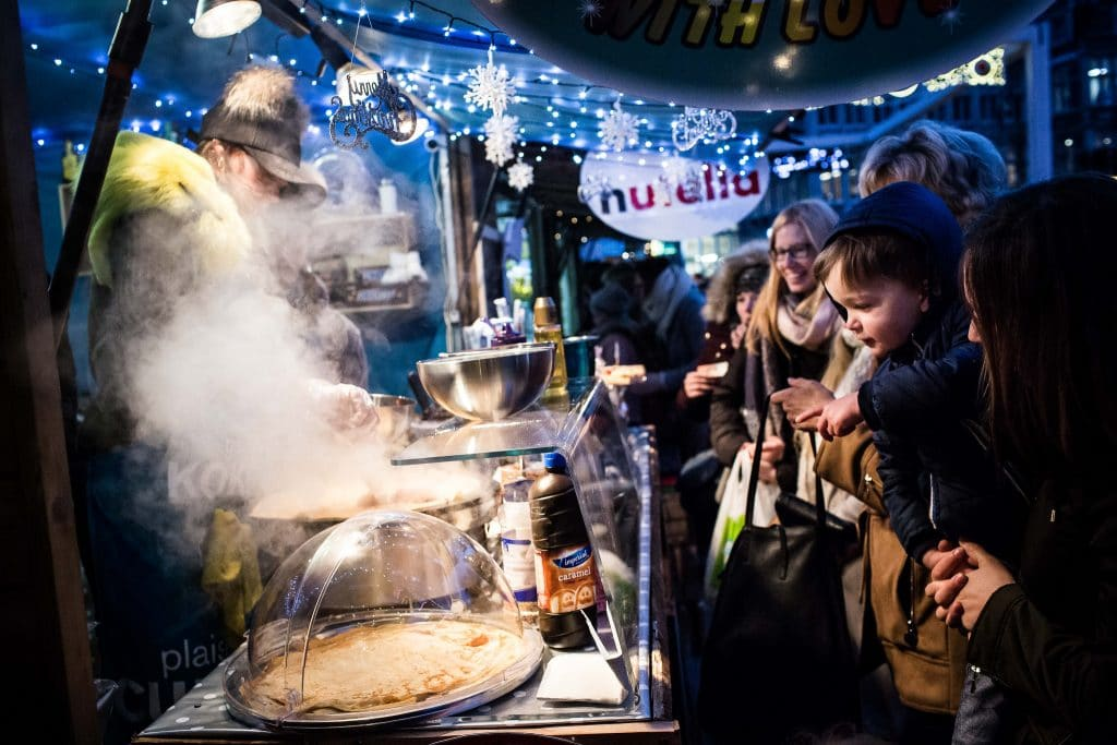 Winter Market Gent