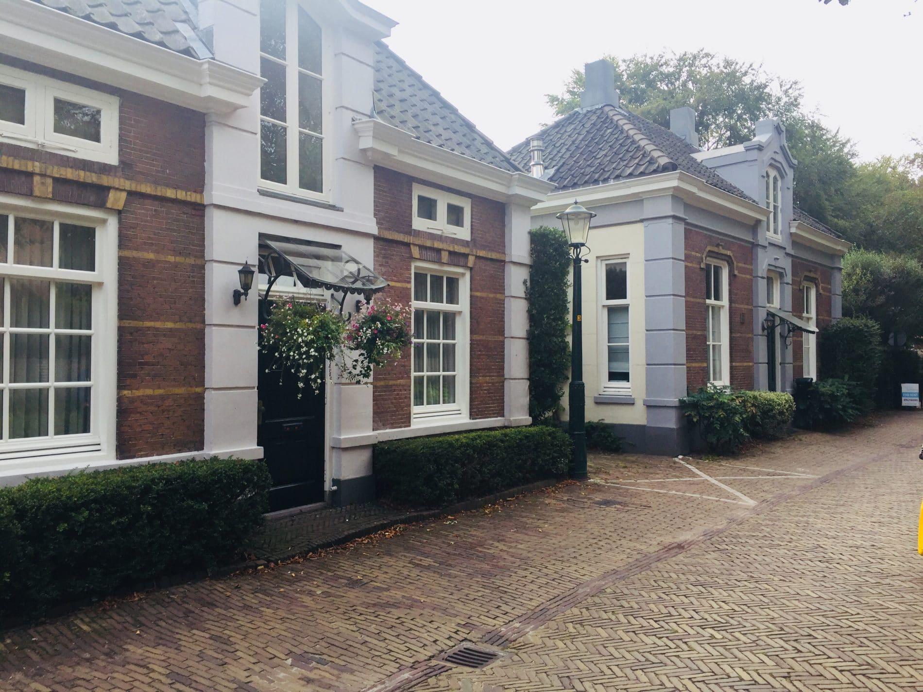 Traditional houses in Wassenaar village