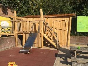 Toddler play area at Kinderkookkafe