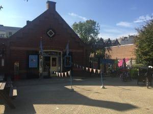 Entrance to KinderkookKafe, Amsterdam