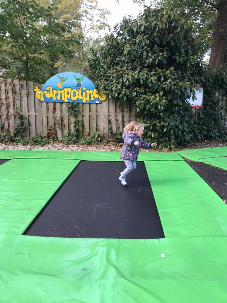Duinrell trampolines