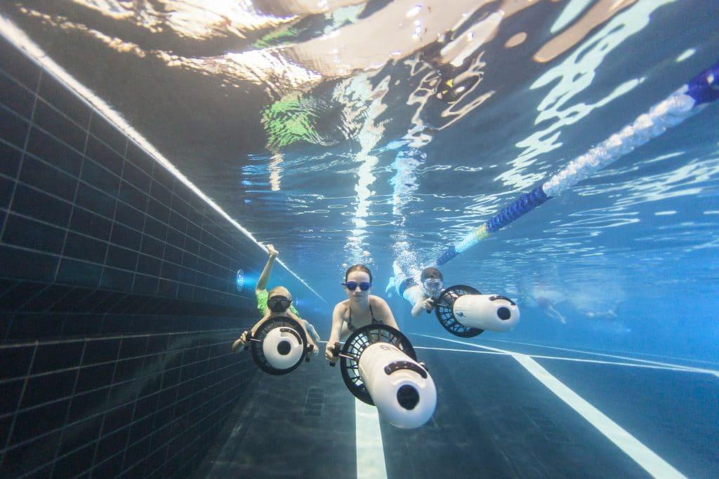 Hof van Saksen underwater scooters