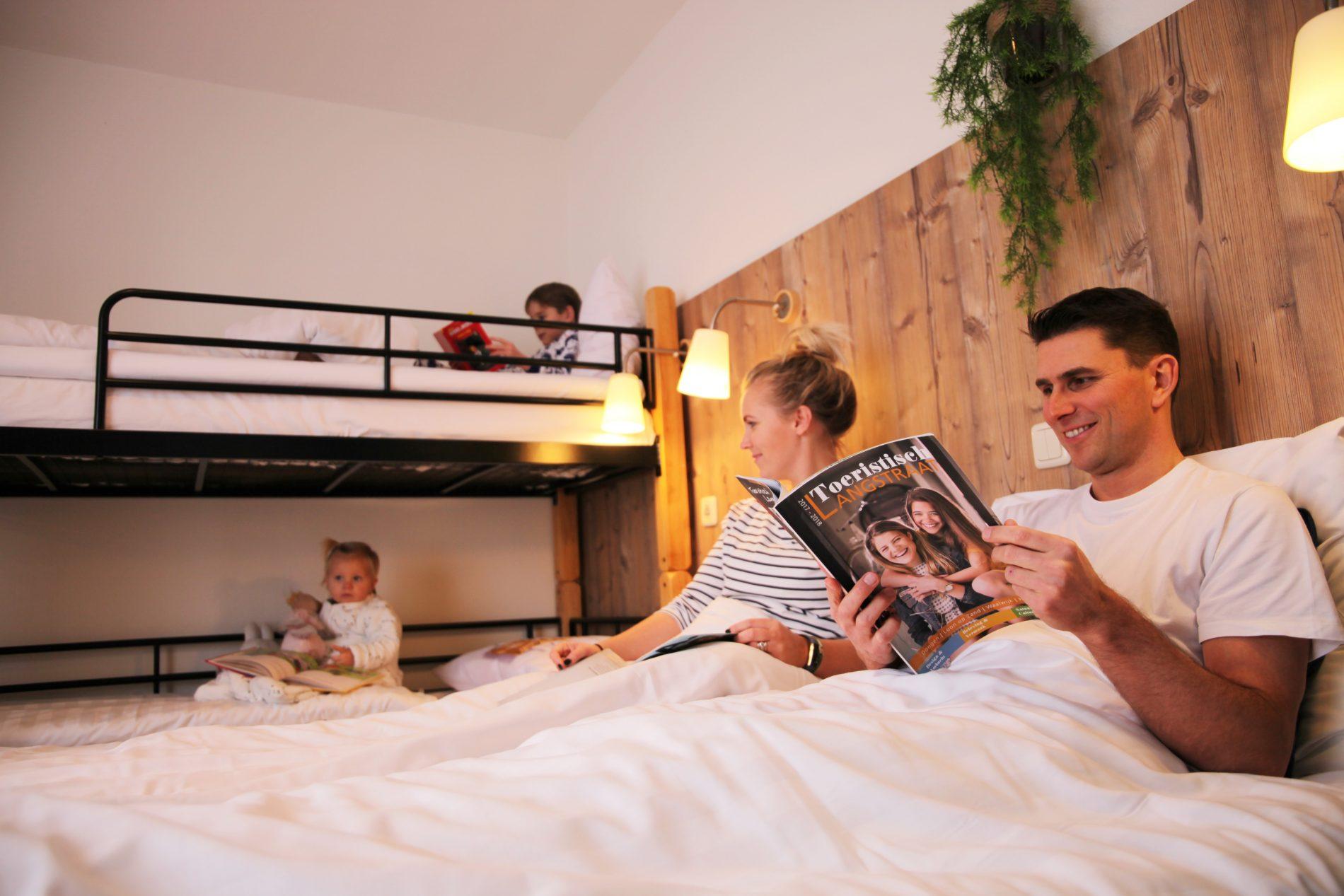 Hotel room in Hotel de Kroon