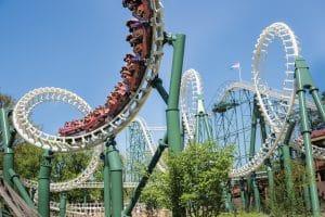 Efteling Python rollercoaster