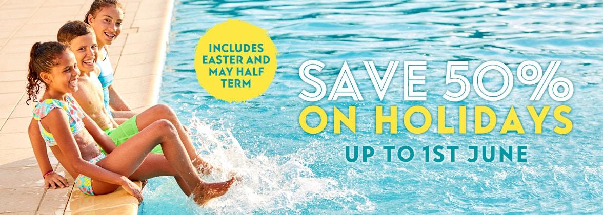 Eurocamp save 50%