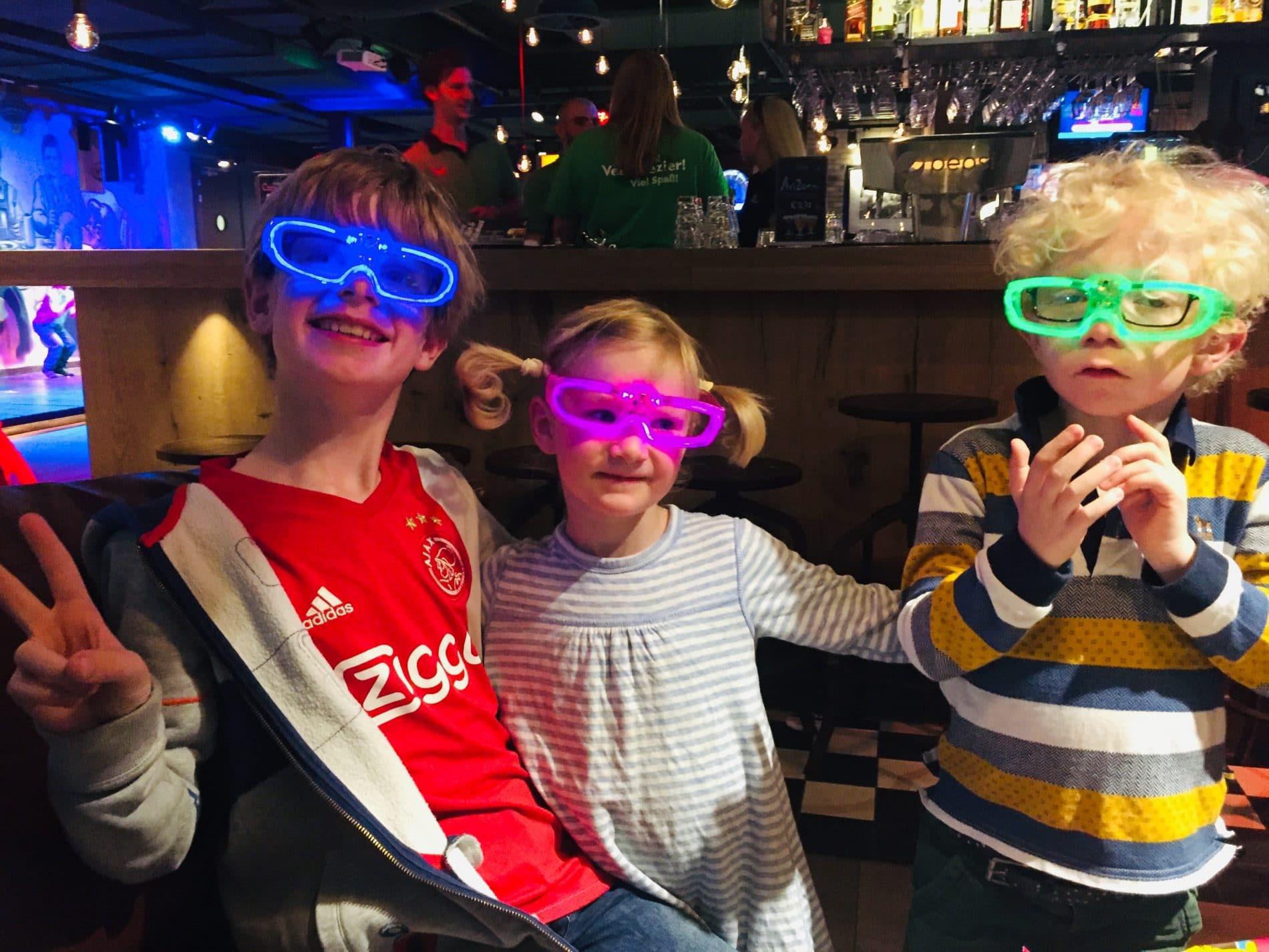 Children at Disco