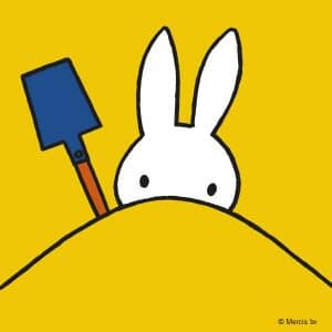 Miffy on the beach