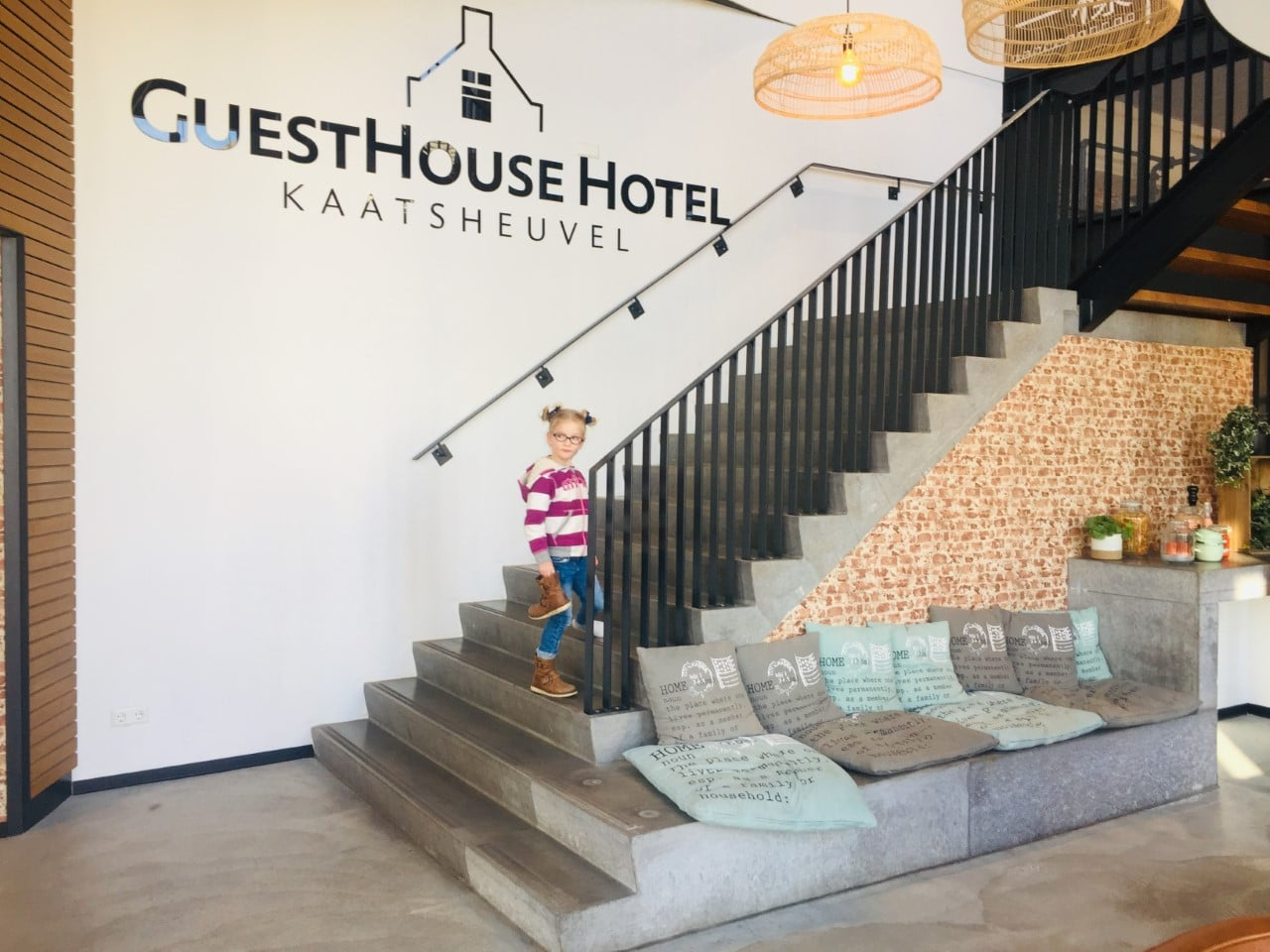 Entrance To GuestHouse Hotel