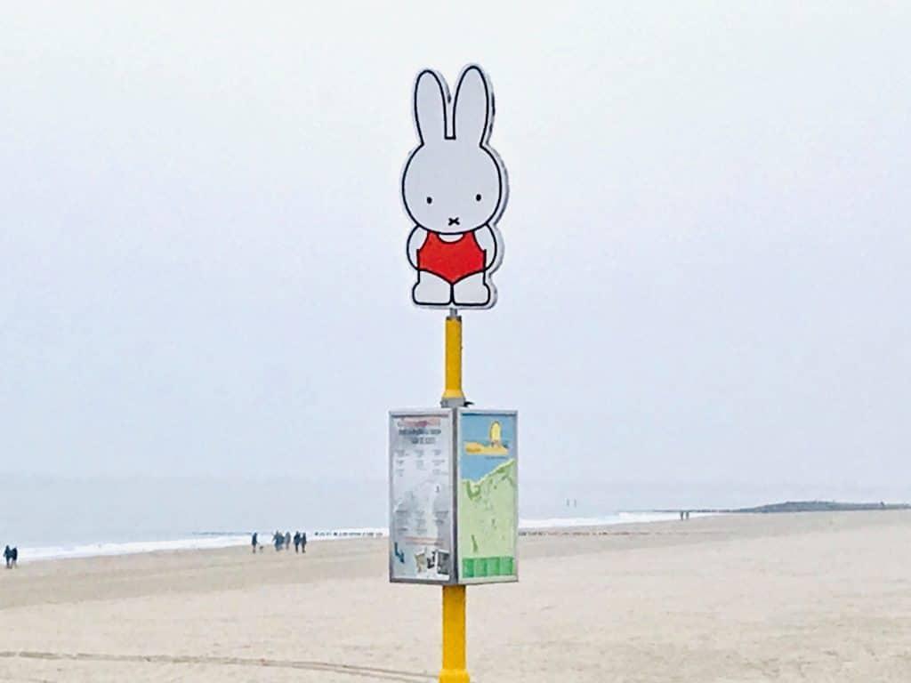 Miffy Nieuwvliet Beach