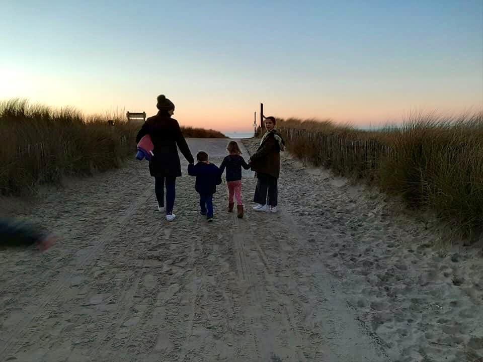 Beach Walk Nieuwvliet