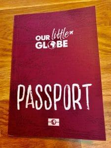 passport our little globe