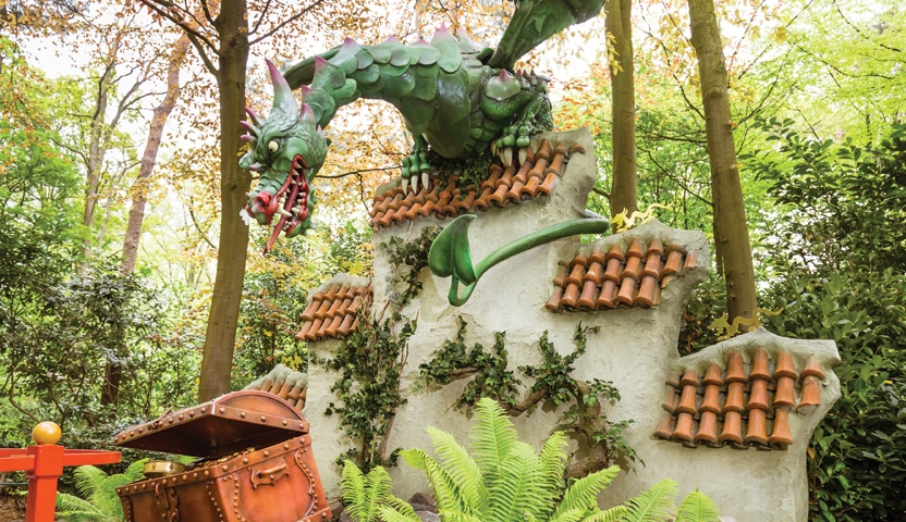 Dragon Theme Park Attraction
