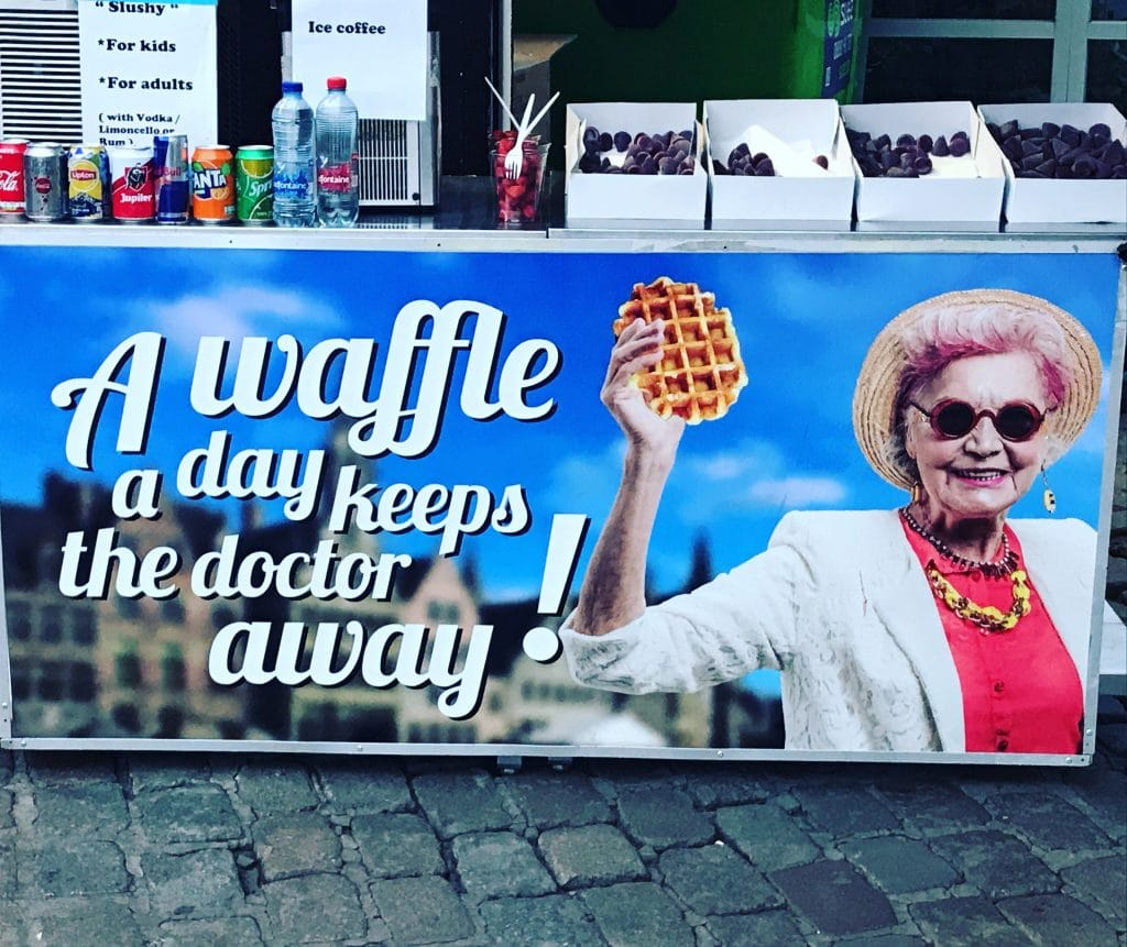 WAFFLE POSTER GENT